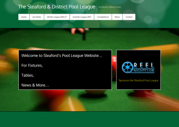 Sleaford Pool Website